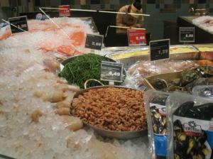 Queller im Supermarkt